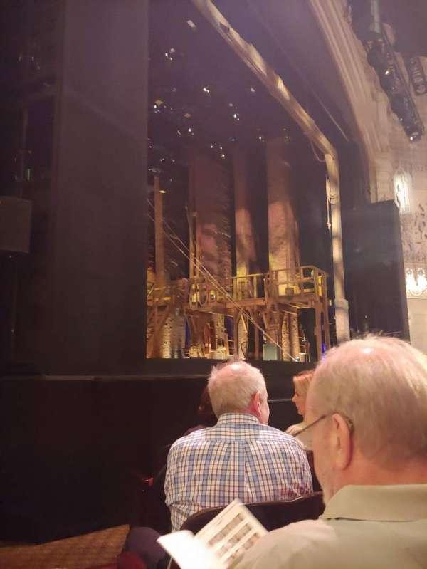 Orpheum Theatre (San Francisco), secção: Orchestra L, fila: F, lugar: 17