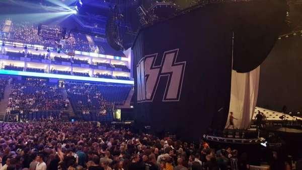 The O2 Arena, secção: 112, fila: G, lugar: 367