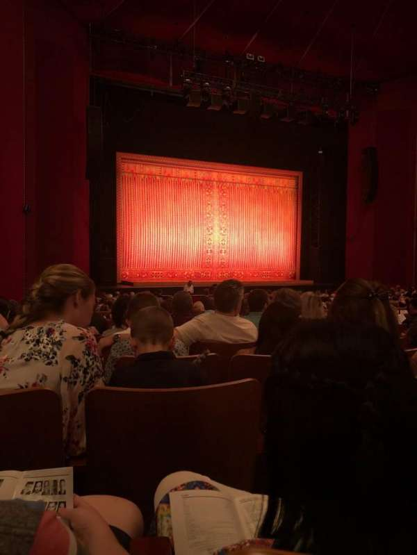 The Kennedy Center Opera House, secção: Orchestra, fila: AA, lugar: 9