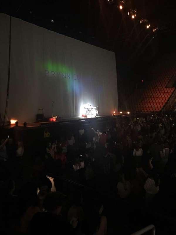 EagleBank Arena, secção: 116, fila: DD, lugar: 16
