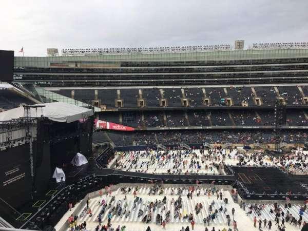 Soldier Field, secção: 441, fila: 3, lugar: 8