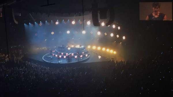 Amalie Arena, secção: 306, fila: P, lugar: 10