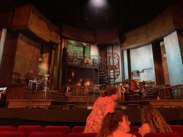 Walter Kerr Theatre, fila: G, lugar: 110