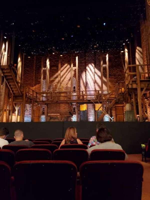 CIBC Theatre, secção: Orchestra C, fila: H, lugar: 110