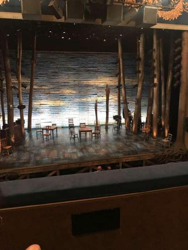 Gerald Schoenfeld Theatre, secção: Mezzanine C, fila: B, lugar: 102