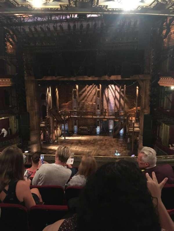 CIBC Theatre, secção: Mezzanine RC, fila: H, lugar: 316