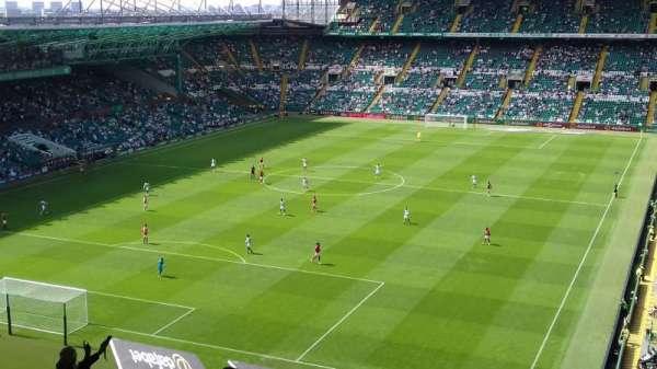 Celtic Park, secção: 413, fila: L, lugar: 32