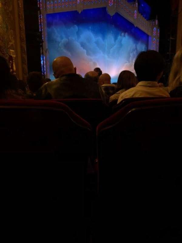 Providence Performing Arts Center, secção: Orch L, fila: P, lugar: 119