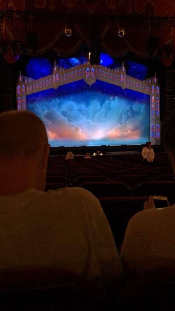 Providence Performing Arts Center, secção: Orch LC, fila: V, lugar: 109