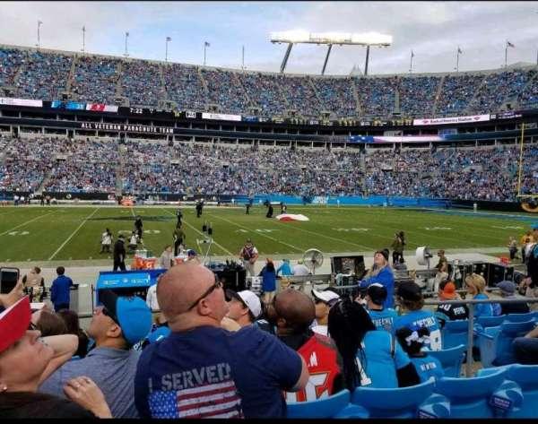 Bank of America Stadium, secção: 132, fila: 6, lugar: 5