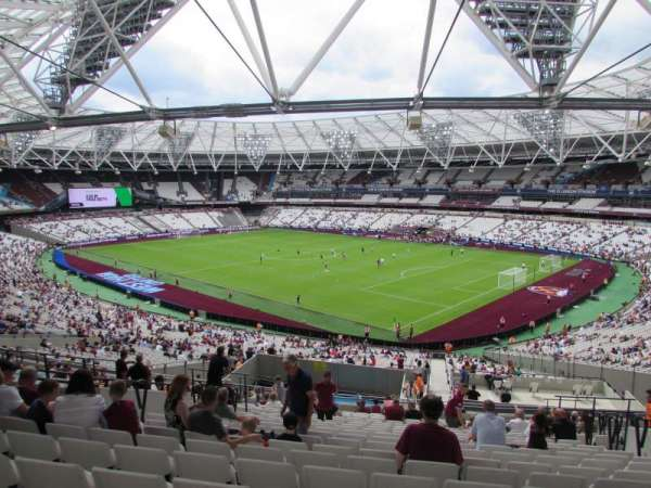 London Stadium, secção: 243, fila: 50, lugar: 277