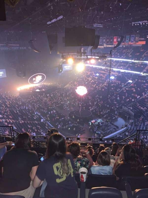 Bridgestone Arena, secção: 331, fila: N, lugar: 10