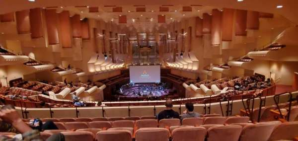Davies Symphony hall, secção: 1st Tier, fila: E, lugar: 110
