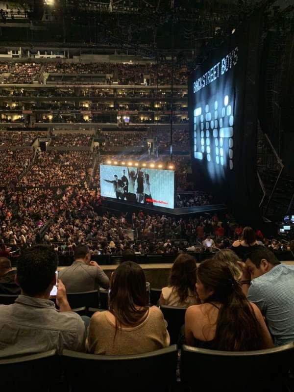 Staples Center, secção: PR4, fila: 5, lugar: 7