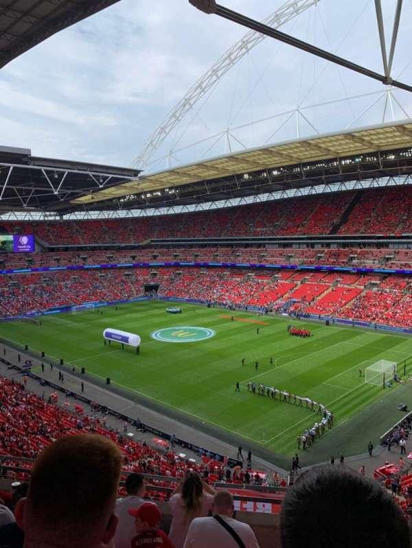 Wembley Stadium, secção: 520, fila: 6, lugar: 201
