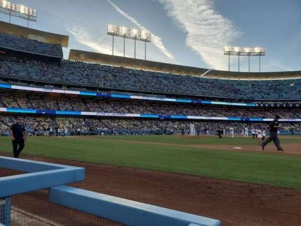 Dodger Stadium, secção: 26BL, fila: 1, lugar: 1