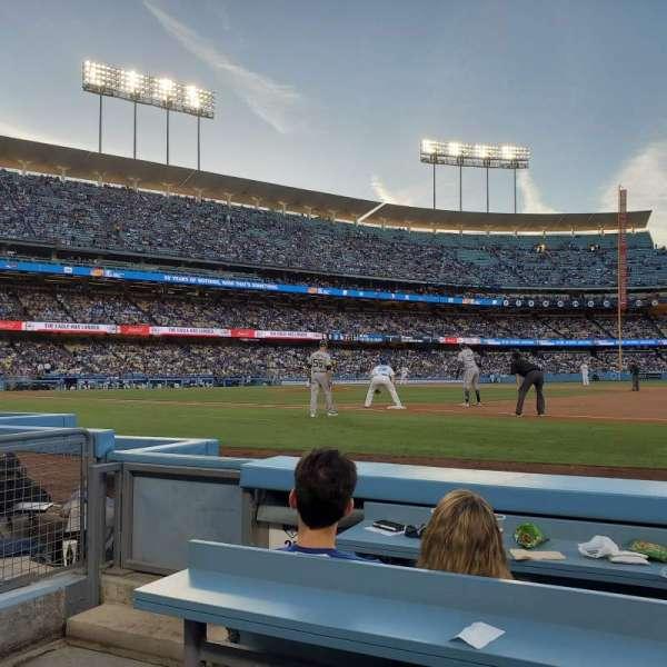Dodger Stadium , secção: 26BL, fila: 3, lugar: 1