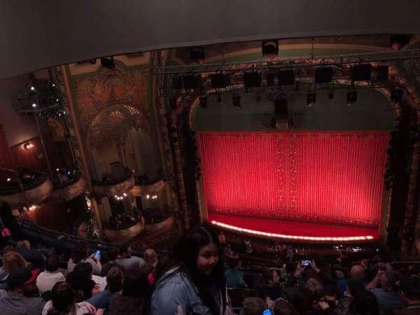 New Amsterdam Theatre, secção: Balcony C, fila: G, lugar: 103