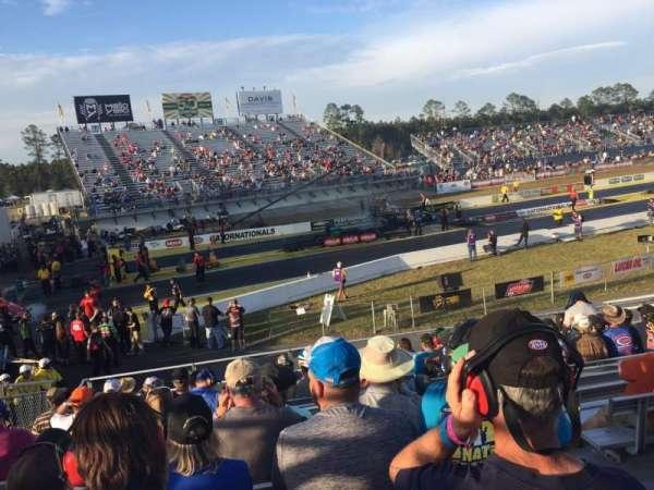 Gainesville Raceway, secção: Tec 1, fila: 15, lugar: 6