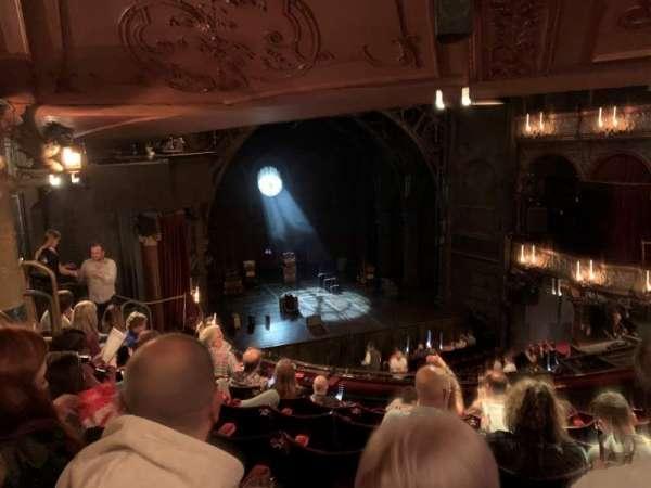 Palace Theatre (West End), secção: Dress Circle, fila: G, lugar: 31