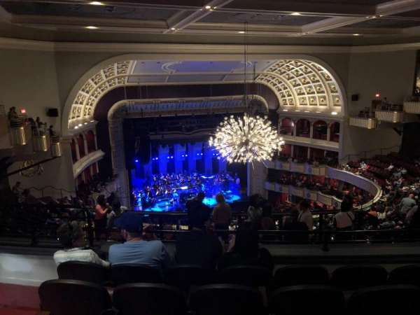 The Met Philadelphia, secção: Mezzanine 4, fila: E, lugar: 15