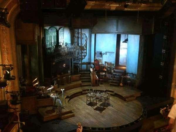 Walter Kerr Theatre, secção: Mezzanine L, fila: G, lugar: 21