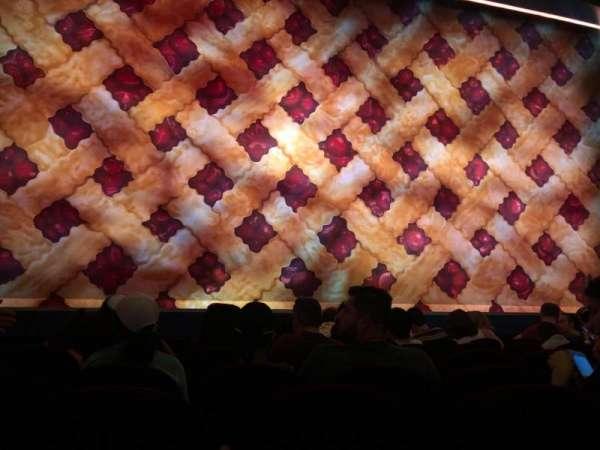 Brooks Atkinson Theatre, secção: Orchestra C, fila: E, lugar: 102