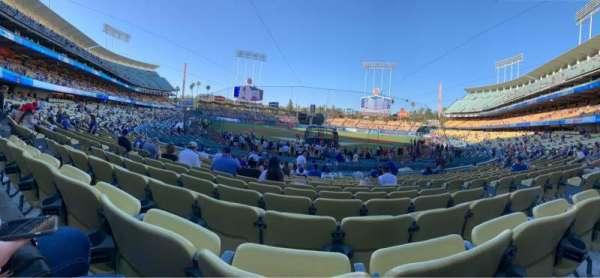Dodger Stadium, secção: 1FD, fila: P, lugar: 5