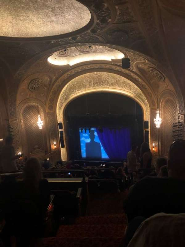 Paramount Theatre (Seattle), secção: Mez31, fila: W, lugar: 1