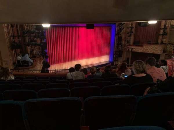 Longacre Theatre, secção: Mezzanine L, fila: H, lugar: 24