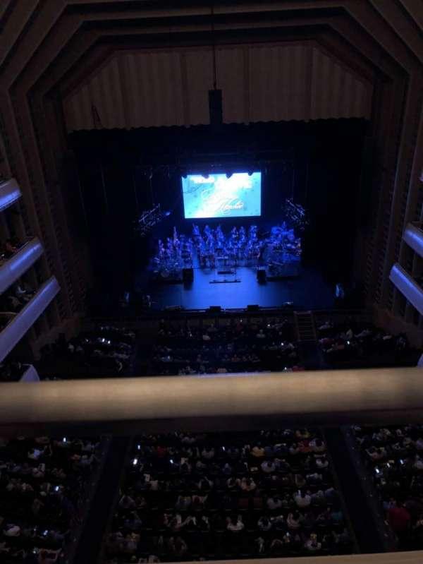 Reynolds Hall at The Smith Center, secção: Balcony, fila: A, lugar: 222