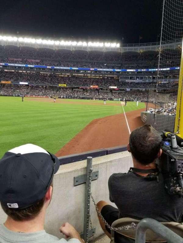Yankee Stadium, secção: 132, fila: 2, lugar: 7