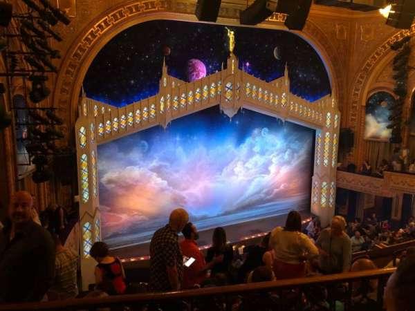 Eugene O'Neill Theatre, secção: Mezzanine L, fila: F, lugar: 5