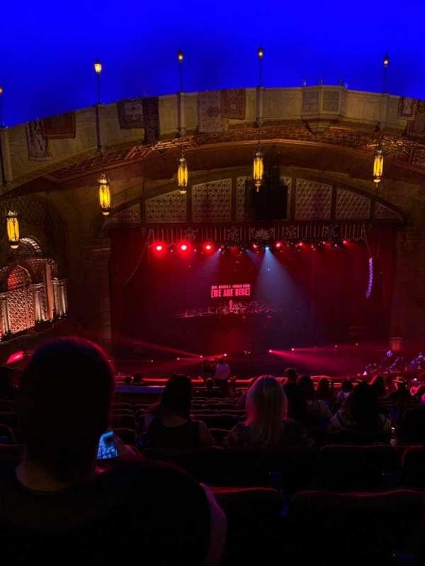 Fox Theatre (Atlanta), secção: DLB, fila: L, lugar: 9