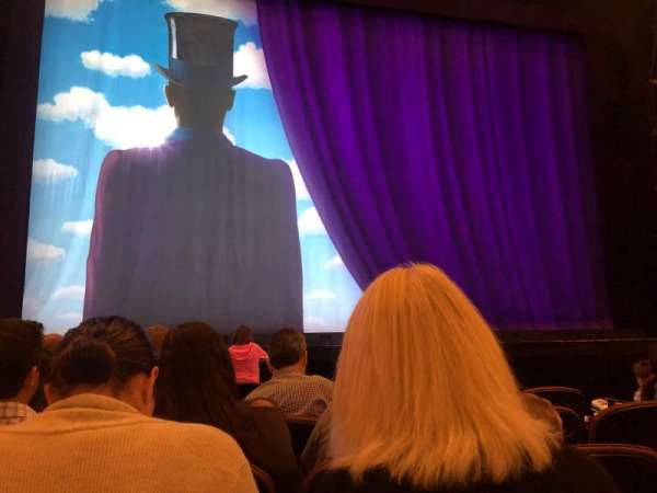 Paramount Theatre (Seattle), secção: MF3, fila: F, lugar: 5