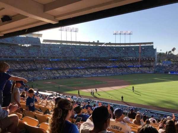 Dodger Stadium, secção: 154LG, fila: R, lugar: 8