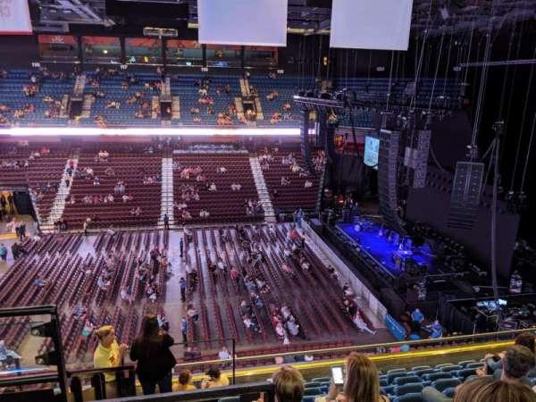 Mohegan Sun Arena, secção: 106, fila: J, lugar: 19