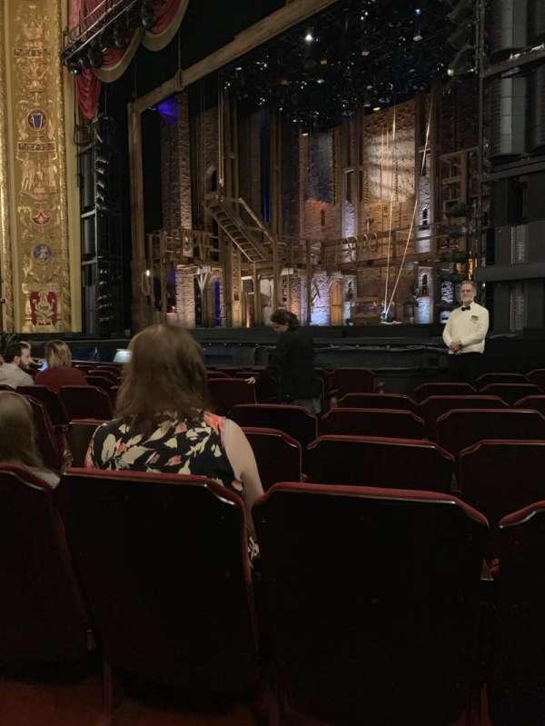Providence Performing Arts Center, secção: Orchestra Right, fila: L, lugar: 12