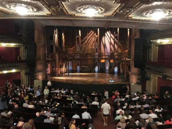 CIBC Theatre, secção: Dress Circle RC, fila: A, lugar: 222
