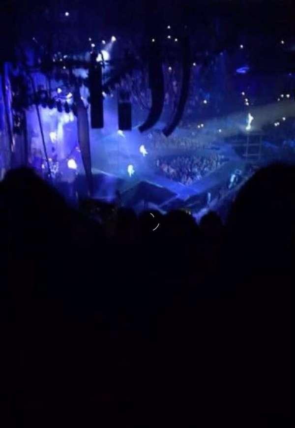 The O2 Arena, secção: 401, fila: F, lugar: 457