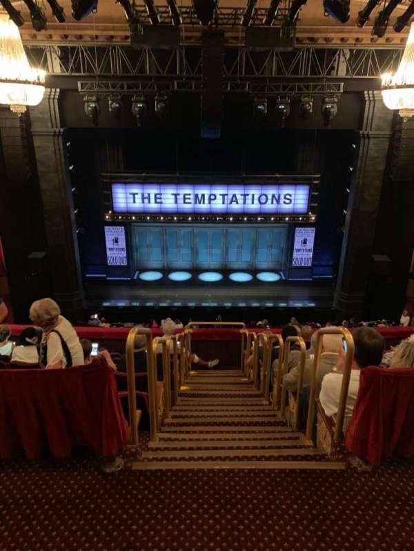 Imperial Theatre, secção: Rear Mezzanine 3, fila: A, lugar: 7