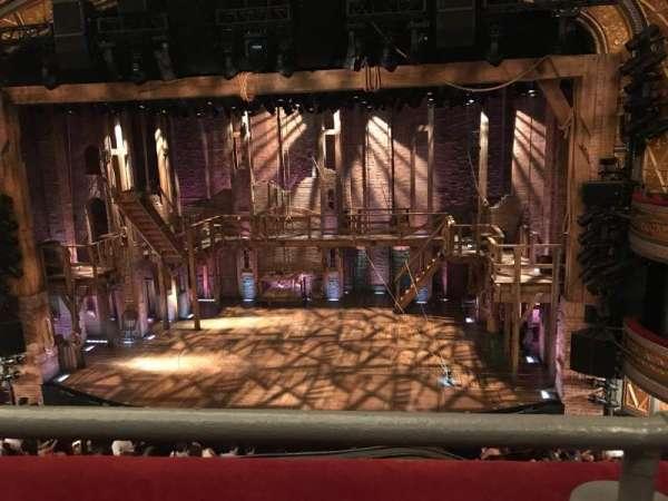 Richard Rodgers Theatre, secção: Front Mezzanine C, fila: A, lugar: 101