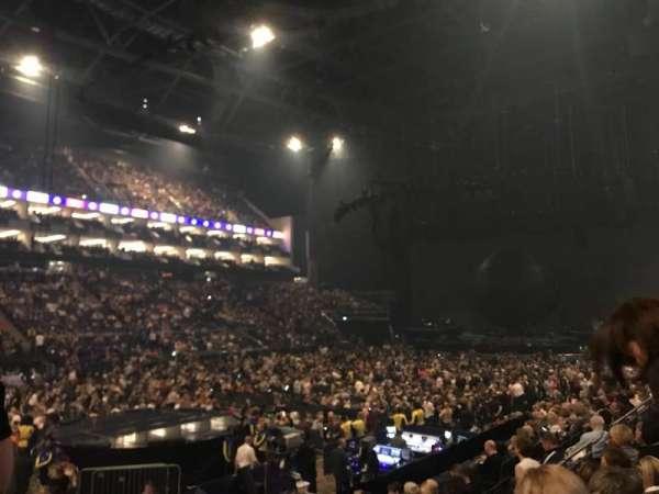 The O2 Arena, secção: 109, fila: M, lugar: 276