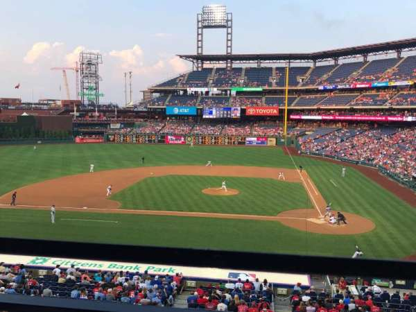 Citizens Bank Park, secção: Suite 25, fila: 1, lugar: 5