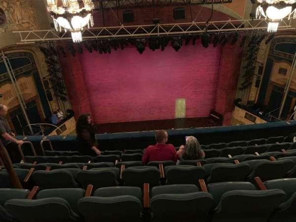 Shubert Theatre, secção: Balcony C, fila: G, lugar: 109