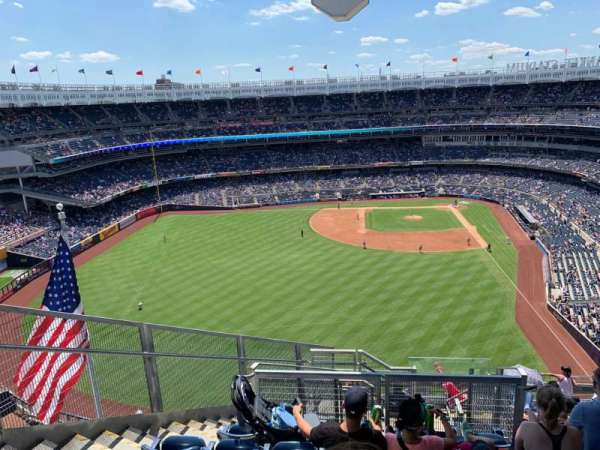 Yankee Stadium, secção: 434b, fila: 11, lugar: 8