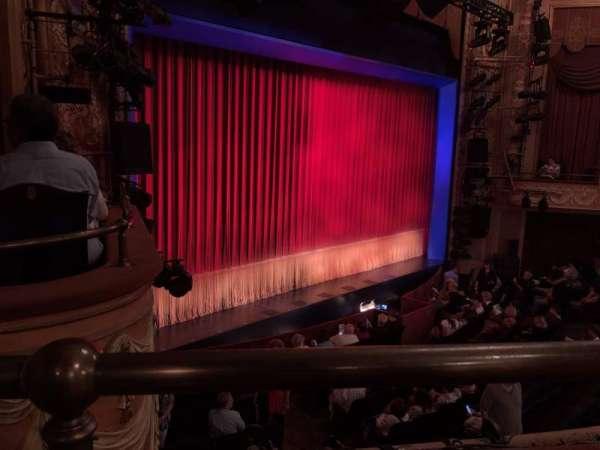 Longacre Theatre, secção: Mezzanine L, fila: A, lugar: 22