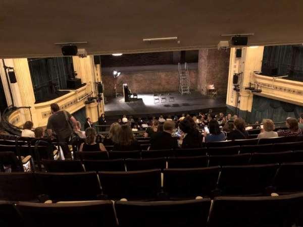 Hudson Theatre, secção: Dress Circle C, fila: J, lugar: 103