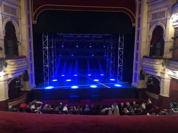 His Majesty's Theatre (Perth), secção: Dress Circle, fila: A, lugar: 18