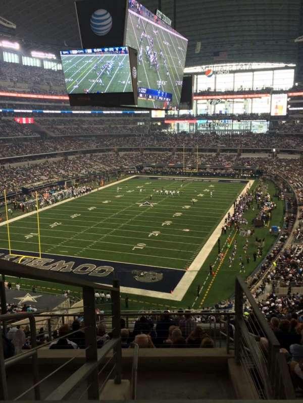 AT&T Stadium, secção: 344, fila: 21